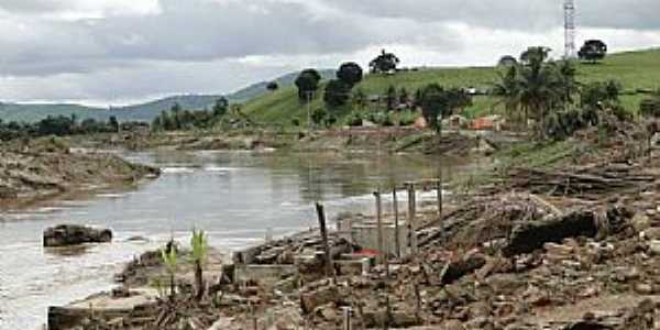 Uni�o dos Palmares-AL-Rio Munda�-Foto:Elio Rocha