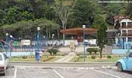 Domingos Martins - Praça da Biquinha em Domingos Martins-ES-Foto:Sergio Falcetti