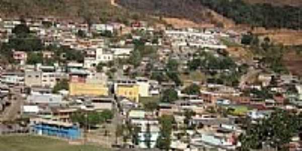 Vista panorâmica da cidade de Dores do Rio Preto-Foto:arievil