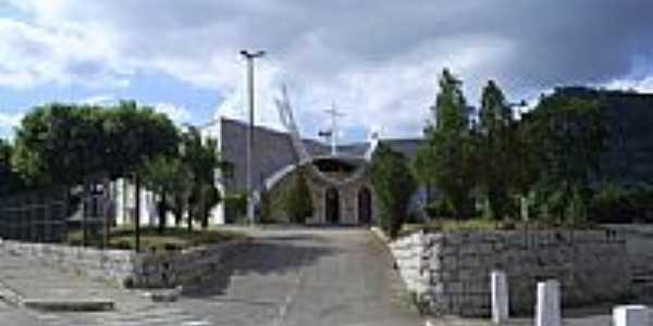 Igreja Matriz de Ecoporanga-Foto:Alfa Sonorização