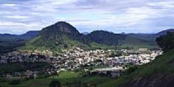 Vista da cidade de Ecoporanga-Foto:Alfa Sonorização