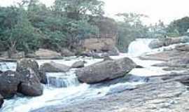 Governador Lacerda de Aguiar - Cachoeira do Rio Preto em Governador Lacerda de Aguiar-Foto:Ednaldo Soares