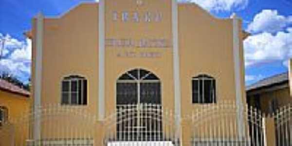 Igreja Batista do Rio Preto em Governador Lacerda de Aguiar-Foto:Ednaldo Soares