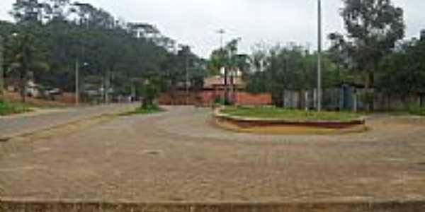 Praça Mova Brasília em Governador Lindenberg-ES-Foto:Sergio Falcetti