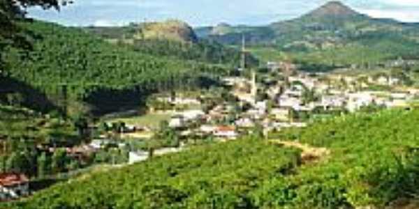 Vista da cidade de Governador Lindenberg-ES-Foto:sandrosesana
