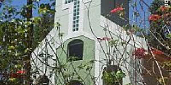 Gua�u�-ES-Igreja de N.Sra.das Gra�as na Comunidade de Santa Cararina-Foto:Sergio Falcetti