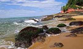 Guarapari - Praia da Areia Preta em Guarapari-ES-Foto:Paulo Yuji Takarada