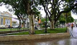 Viçosa - Viçosa-AL-Praça na área central-Foto:Toni Cavalcante