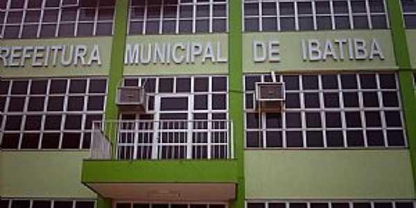 Ibatiba-ES-Fachada da Prefeitura Municipal-Foto:Sergio Falcetti