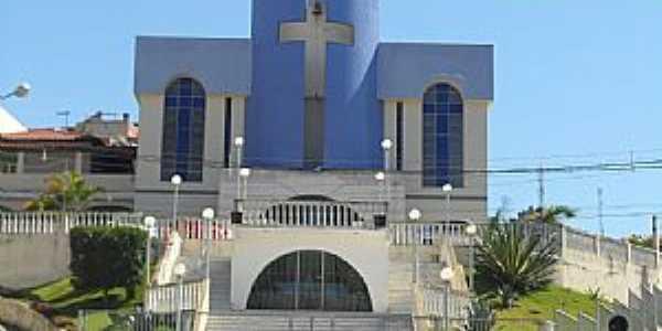 Ibatiba-ES-Igreja de N.Sra.do Ros�rio-Foto:Sergio Falcetti