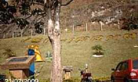 Ibitirama - Entrada da cidade de Ibitirama-ES-Foto:Sergio Falcetti