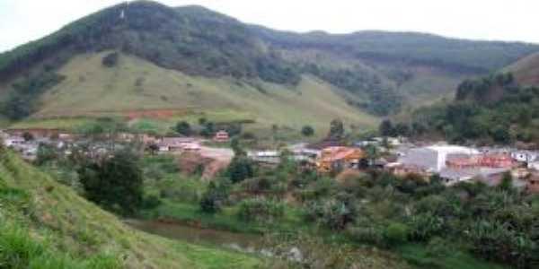 Ibitirama Centro chegando de Santa Marta, Por carlos roberto rocha sanata