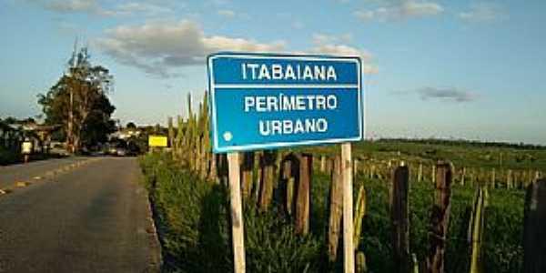 Itabaiana-ES-Placa perimetral-Foto:Facebook
