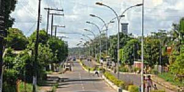Avenida em Sena Madureira-Foto:JEZAFLU=ACRE=BRASIL