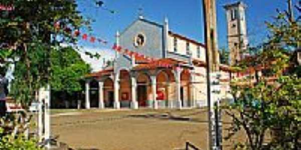 Matriz de N.Sra.da Conceição em Sena Madureira-Foto:JEZAFLU=ACRE=BRASIL