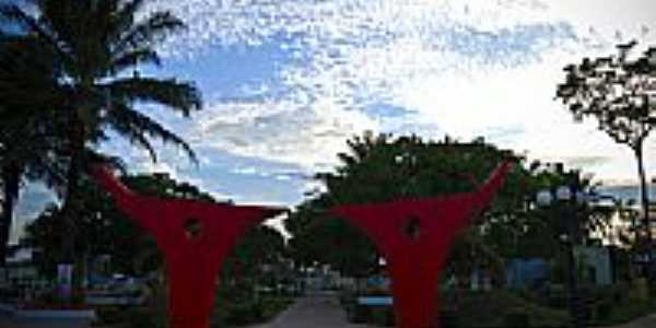 Praça em Sena Madureira-Foto:JEZAFLU=ACRE=BRASIL