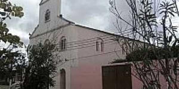 Igreja Matriz de Vila de São Francisco-AL-Foto:descansoploucura.