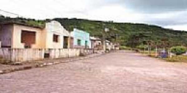 Rua de Vila de São Francisco-AL-Foto:gazetaweb.globo.