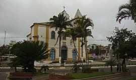 Itapemirim - Itapemirim-ES-Praça e Igreja Matriz-Foto:Diana Kaya