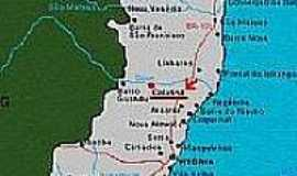 Itapina - Mapa