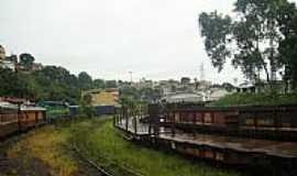 Itaquari - Ferrovia e ao fundo a cidade-Foto:Rodnei Braum