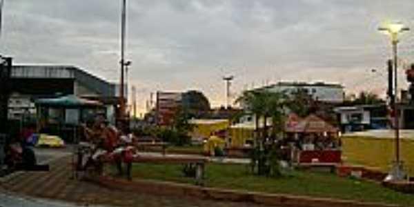 Praça em Alvarães-AM-Foto:euxinhasilva