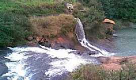 Jaguaré - Cachoeira do Bereco, vista da ponte-Foto:RENATO-LUCHI-MARTINS