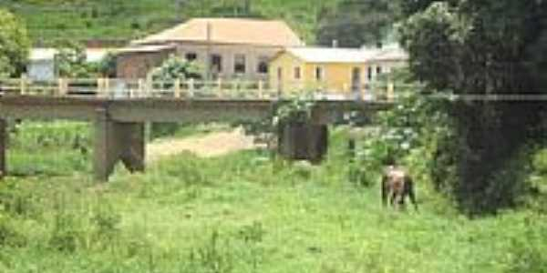 Ponte área rural-Foto:Vanderley Silva