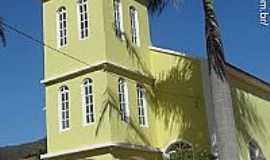 Laranja da Terra - Igreja de São Luiz Gonzaga no Distrito de São Luiz de Miranda em Laranja da Terra-ES-Foto:Sergio Falcetti