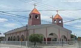 Linhares - Linhares-ES-Igreja do Sagrado Cora��o de Jesus-Foto:Sergio Falcetti