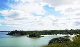 Linhares - Linhares-ES-Lagoa Juparanã,Ilha e Praia-Foto:Elpídio Justino de Andrade