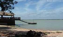 Linhares - Linhares-ES-Praia do MinotauroLagoa Juparan�-Foto:Sergio Falcetti
