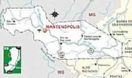 Mantenópolis - Mapa de localização