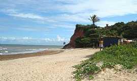 Marataízes - Falésias na Praia das Pitas, Marataízes - por LucianeSC