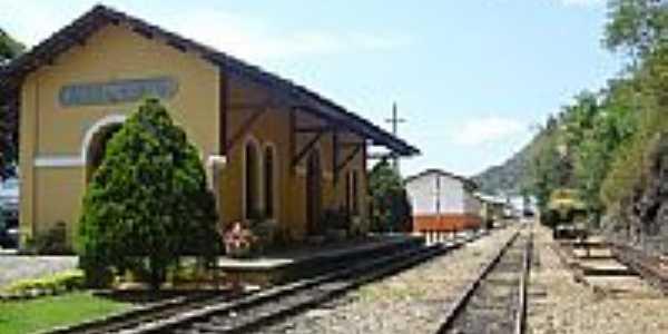 Estação Ferroviária de Marechal Floriano-ES-Foto:Sergio Falcetti