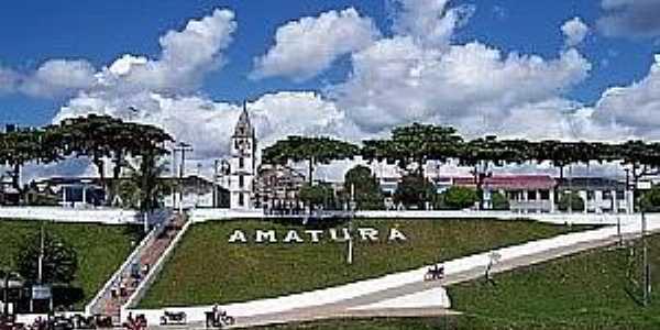 Amaturá-AM-Vista da cidade-Foto:brasilviagemfantastica.blogspot.com