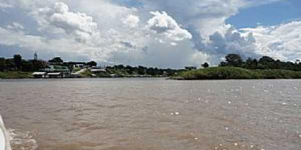 Amaturá-AM-Vista da cidade-Foto:Marcelo José Pereira