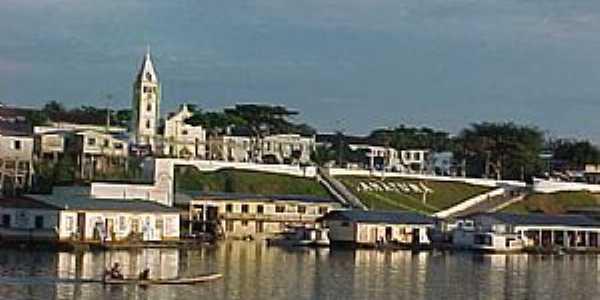 Amaturá-AM-Vista da cidade-Foto:Mauro B.S