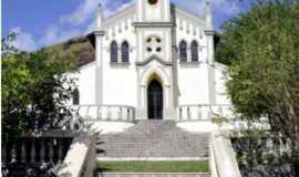 Mimoso do Sul - Igreja Matriz de São José - - Foto Alberto Rodolfo - visaobrasilvip.com.br cartões postais, Por Alberto Rodolfo