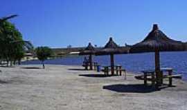 Mucurici - Beira do Lago no Balne�rio-Foto:Alfa Sonoriza��o