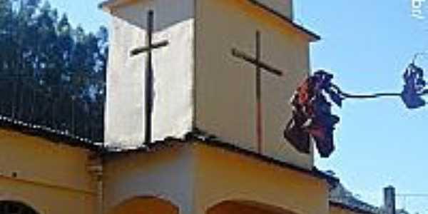 Igreja de Santa Bárbara em Muniz Freire-ES-Foto:Sergio Falcetti