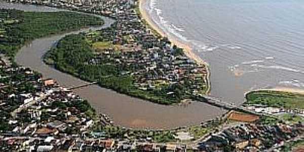 Nova Almeida-ES-Foz do rio-Foto:www.naturezabrasileira.com.br