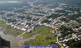Anori - Anori-AM-Vista aérea da cidade-Foto:Instituto Amazônia