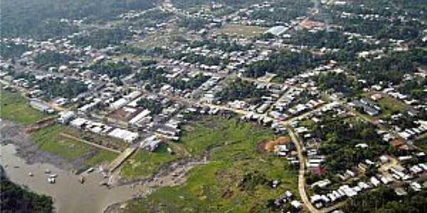 Anori-AM-Vista aérea da cidade-Foto:Instituto Amazônia