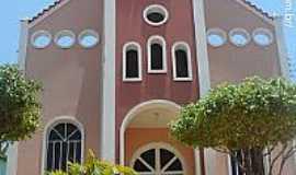 Pancas - Igreja de N.Sra.das Graças em Pancas-ES-Foto:Sergio Falcetti