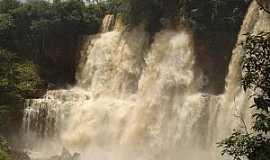 Apuí - Apuí-AM-Cachoeira do Rio Canada-Foto:rafagamadao