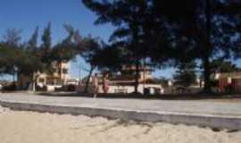 Presidente Kennedy - calçadão praia das neves, Por Fátima