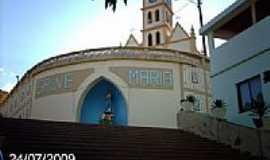 Rio Bananal - Igreja Matriz de Santo Antônio em Rio Bananal-ES-Foto:Sergio Falcetti
