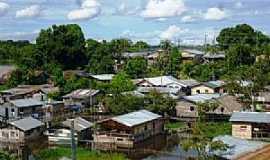 Atalaia do Norte - Atalaia do Norte-AM-Vista parcial do município-Foto:acritica.uol.com.br