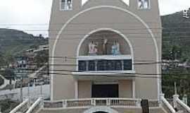 Rio Novo do Sul - Igreja de Santo Antônio de Pádua em Rio Novo do Sul-ES-Foto:Sergio Falcetti